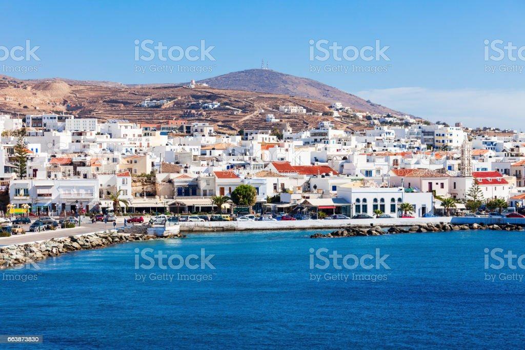 Tinos island in Greece royalty-free stock photo