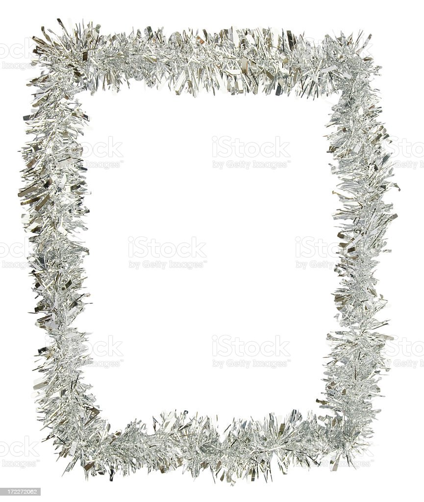 Tinsel Border stock photo