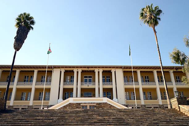 Tintenpalast (Ink palace), Windhoek, Namibia stock photo