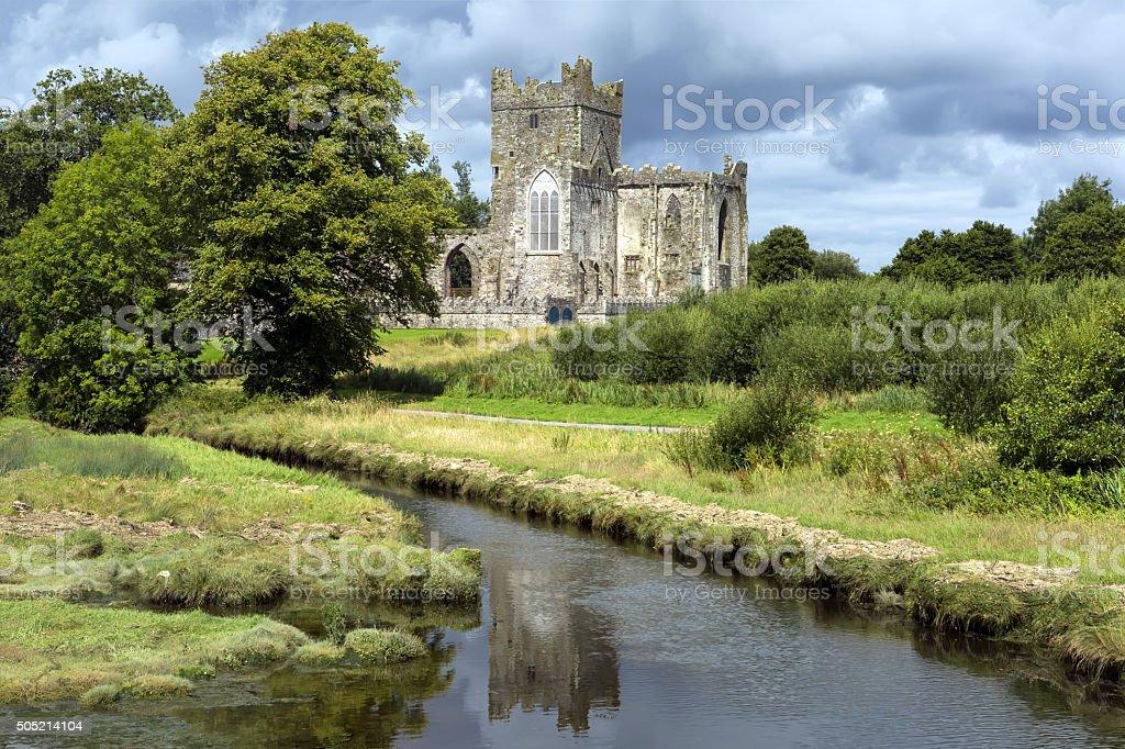 Tintern Abbey, Hook peninsula, County Wexford, Ireland stock photo