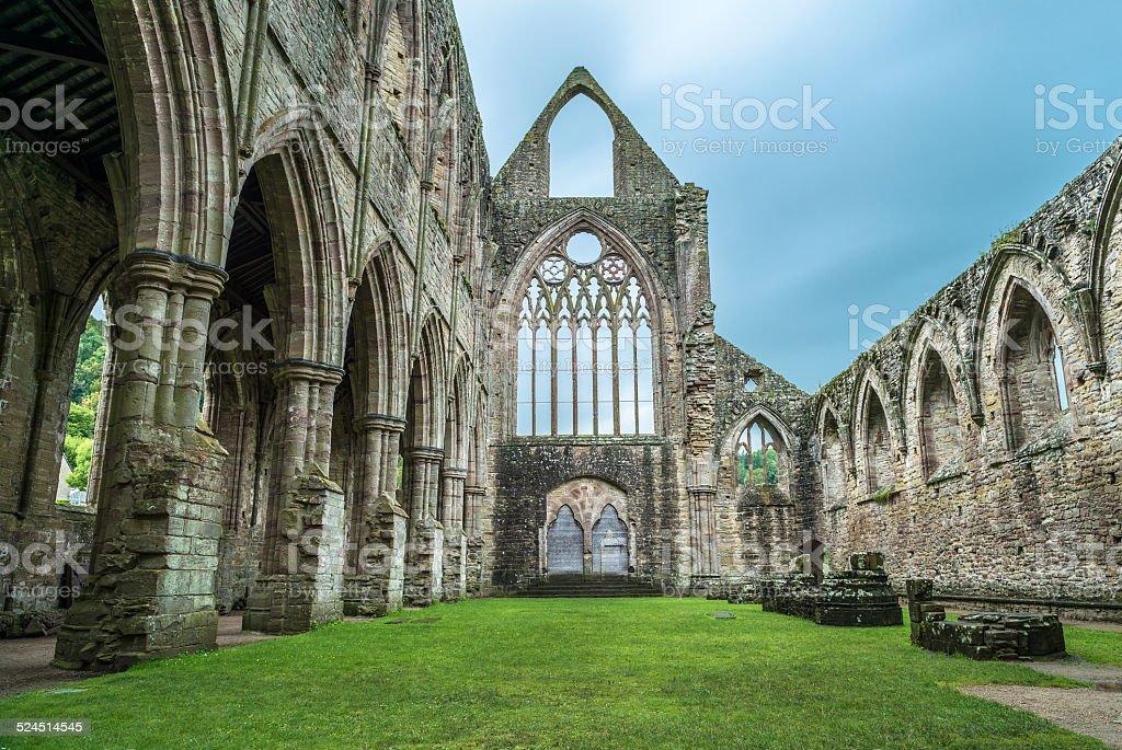 Tintern Abbey , London, UK stock photo
