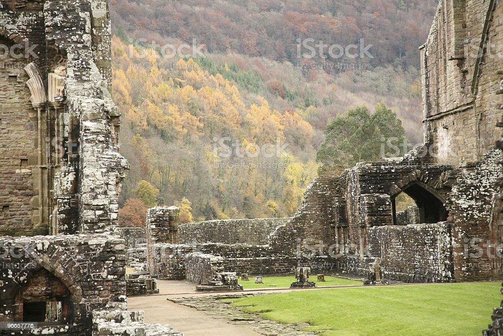 Tintern abbey, monmouthshire, stock photo