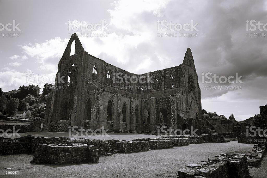 Tintern Abbey royalty-free stock photo