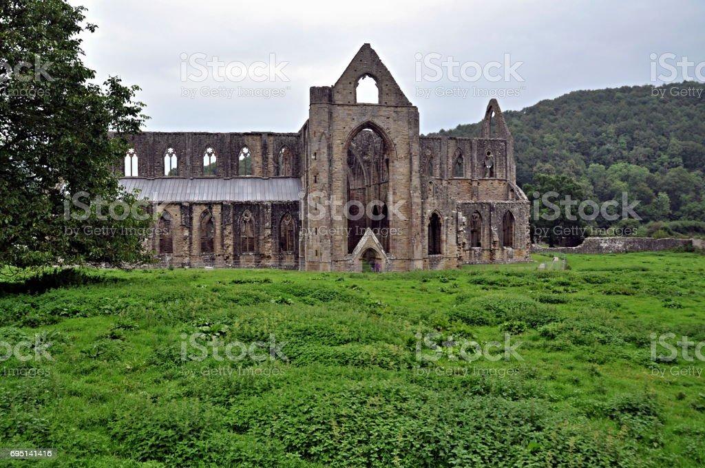 Tintern Abbey stock photo