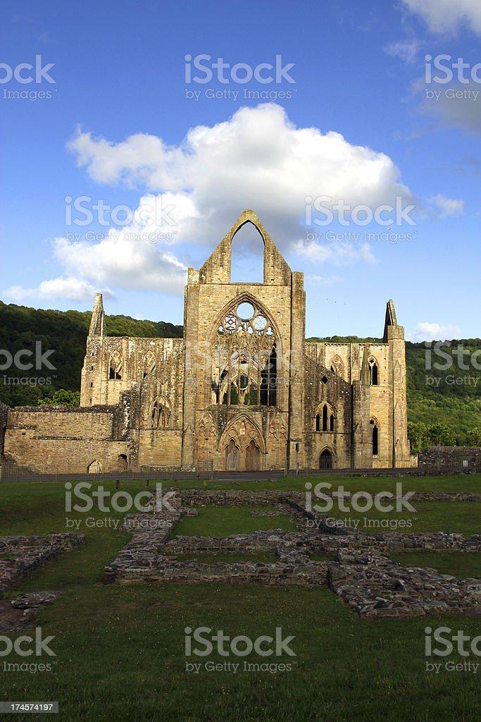 Tintern and Ruins stock photo