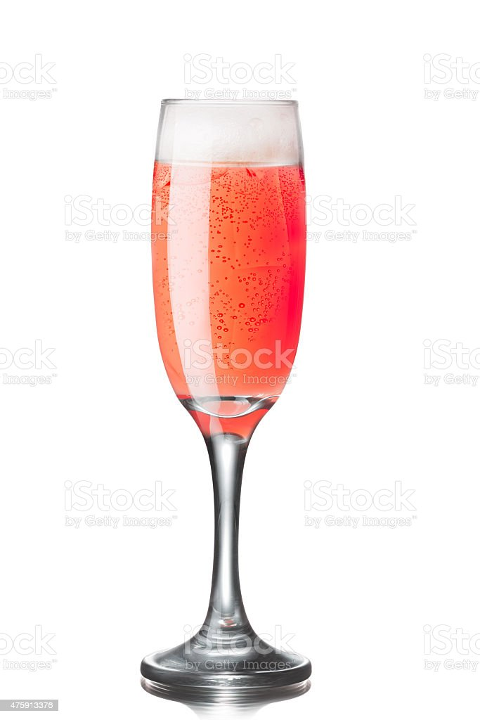 Tintoretto cocktail stock photo