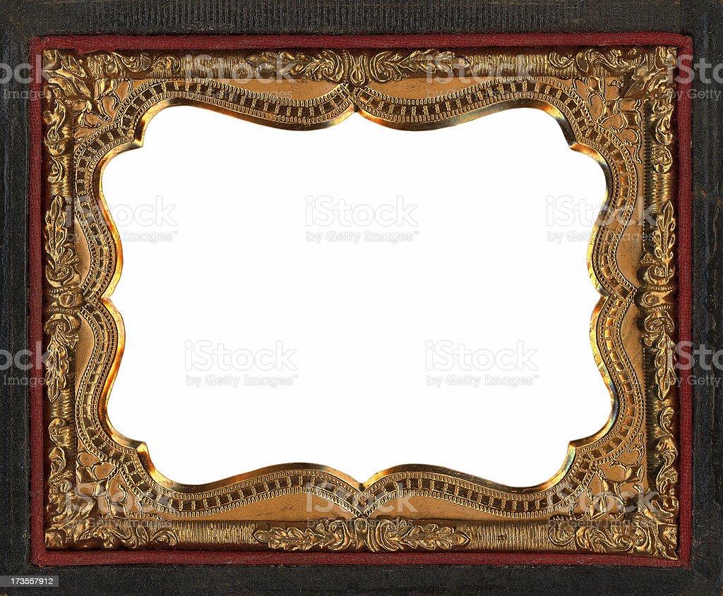 tintype frame royalty-free stock photo