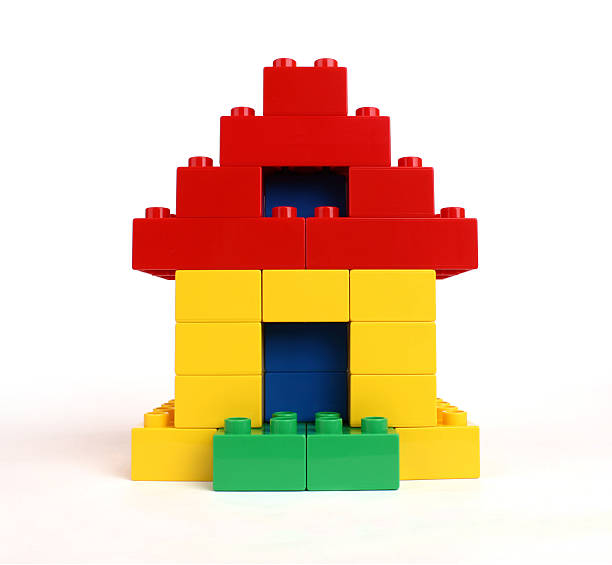 tiny house - lego house stock photos and pictures