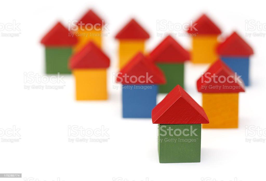 Tiny Houses royalty-free stock photo