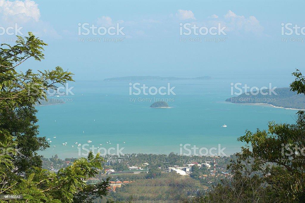 작은 섬은 태국 royalty-free 스톡 사진