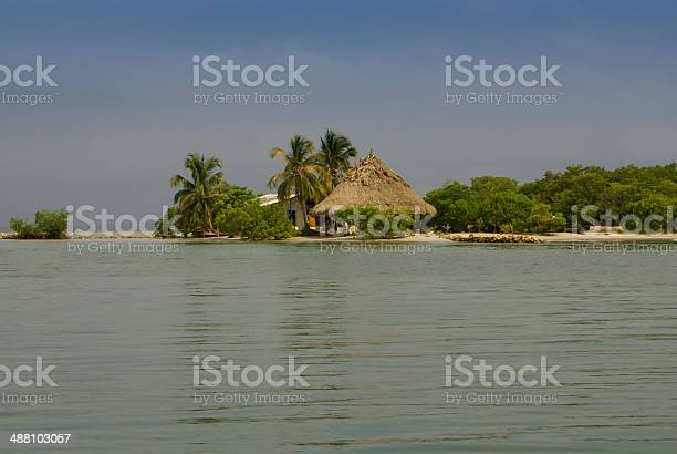 Tiny island in the caribbean. Colombia.Amerrica Sur.