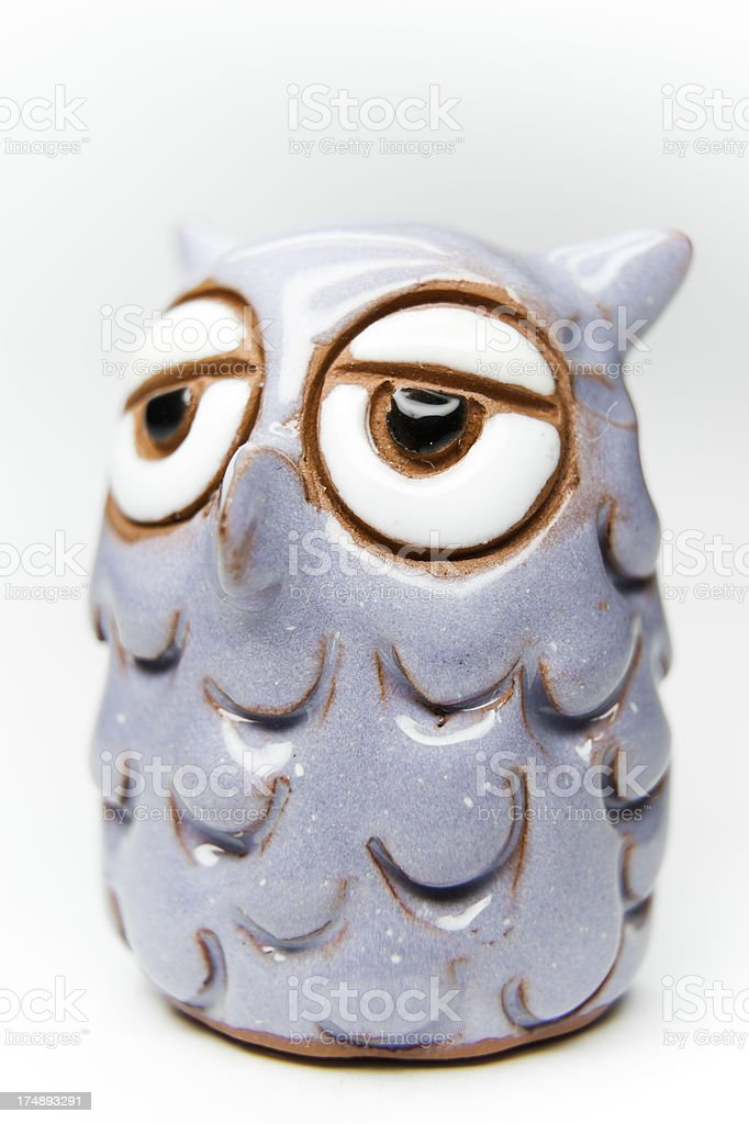 Tiny Owl stock photo