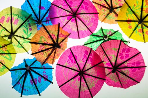 Tiny Paper Umbrellas