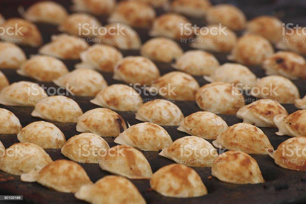 tiny puff-pancake royalty-free stock photo