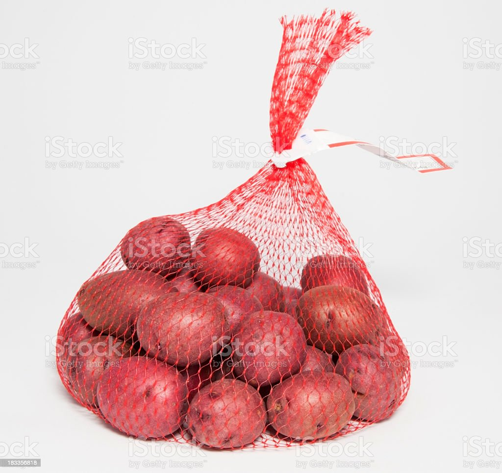 Tiny Red Tatters stock photo