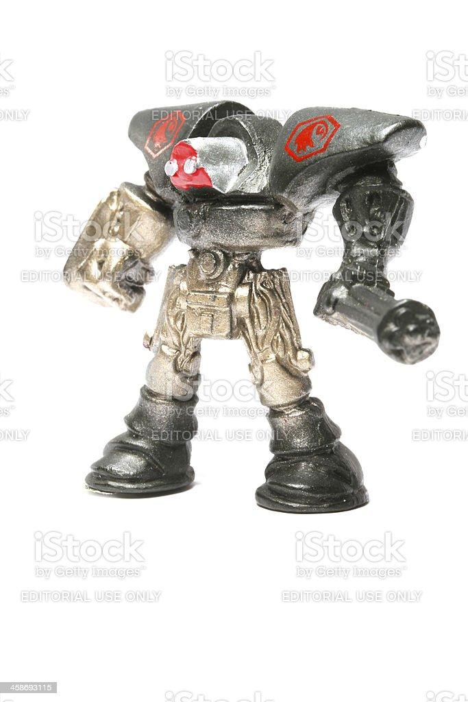 Tiny Robot Might royalty-free stock photo