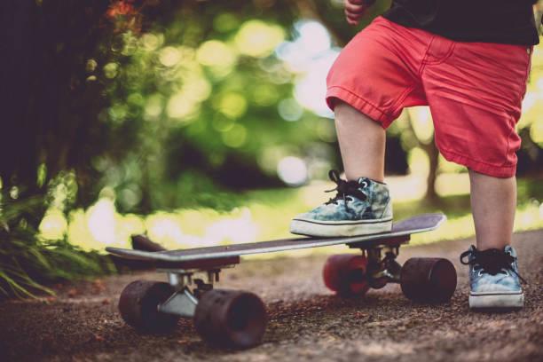 Winzige Skater – Foto