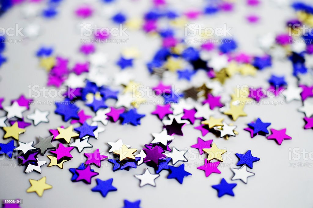 Tiny Stars royalty-free stock photo