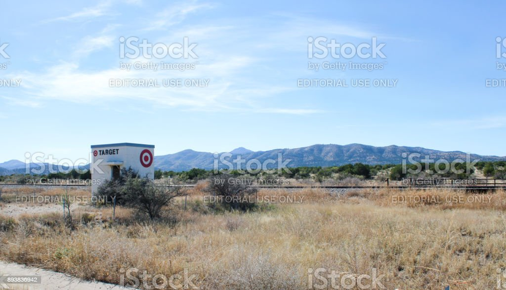 tiny target store stock photo