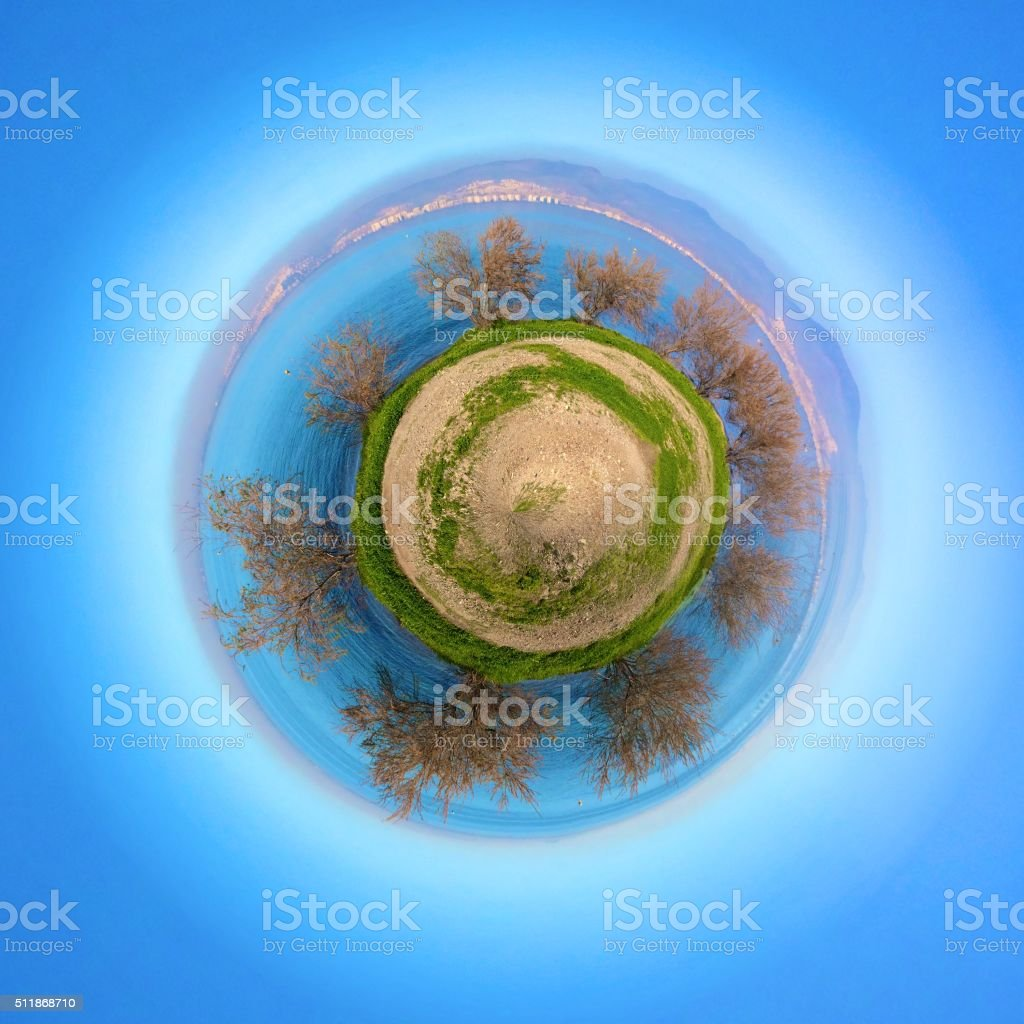 Tiny world stock photo