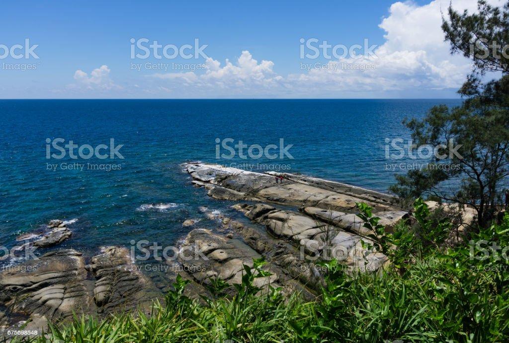 Tip Of Borneo stock photo