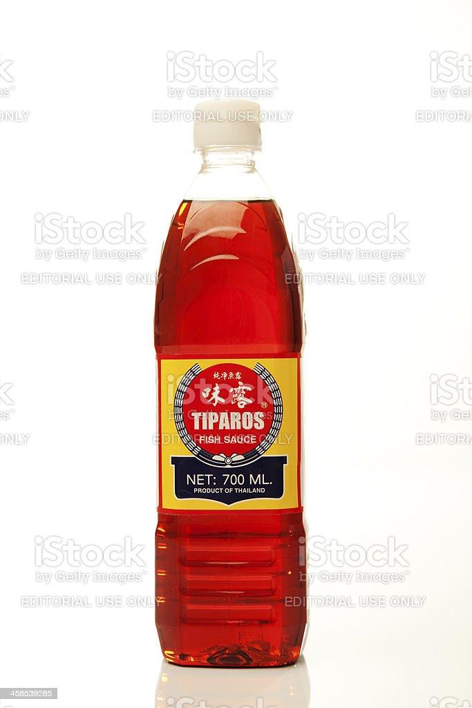 Tiparos Fish Sauce stock photo