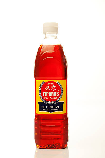 Tiparos Fish Sauce stock photo