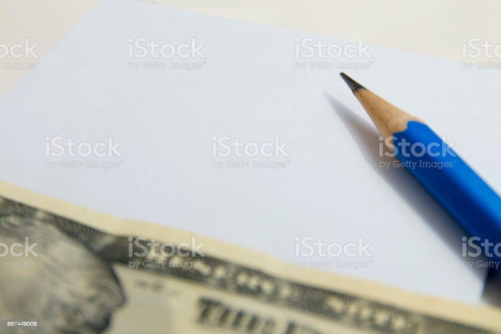 Tipps und Notizen auf Papier – Foto