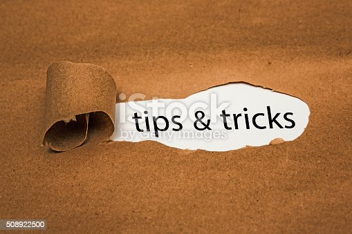 tips &tricks  torn papper