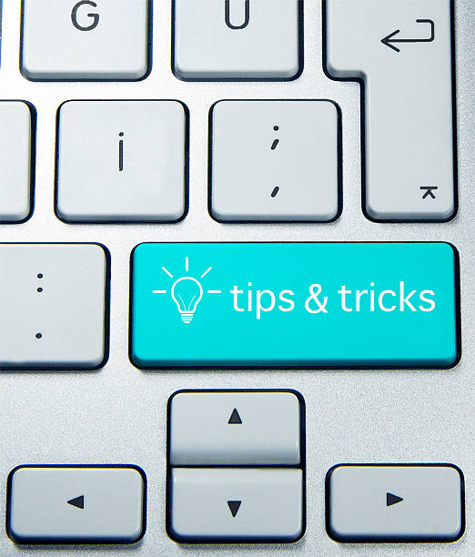 tips and tricks on keyboard magic trick stock pictures, royalty-free photos & images