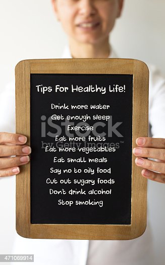 478203597 istock photo Tips For Healthy Life 471069914