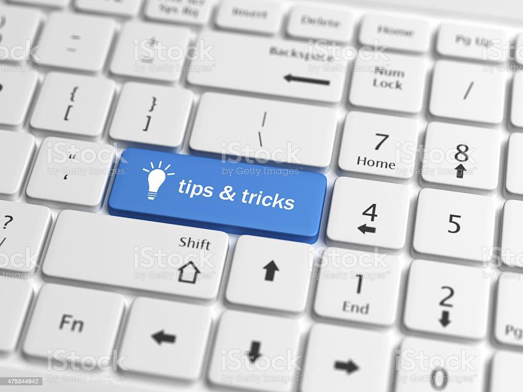 tips rticks stock photo
