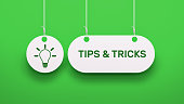 istock Tips & Tricks - Speech Bubble Concept 1266782162