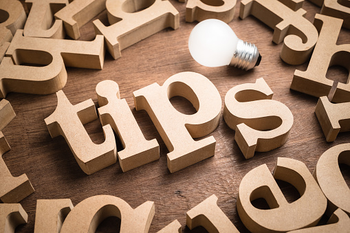 istock Tips Word and Idea 1144189191