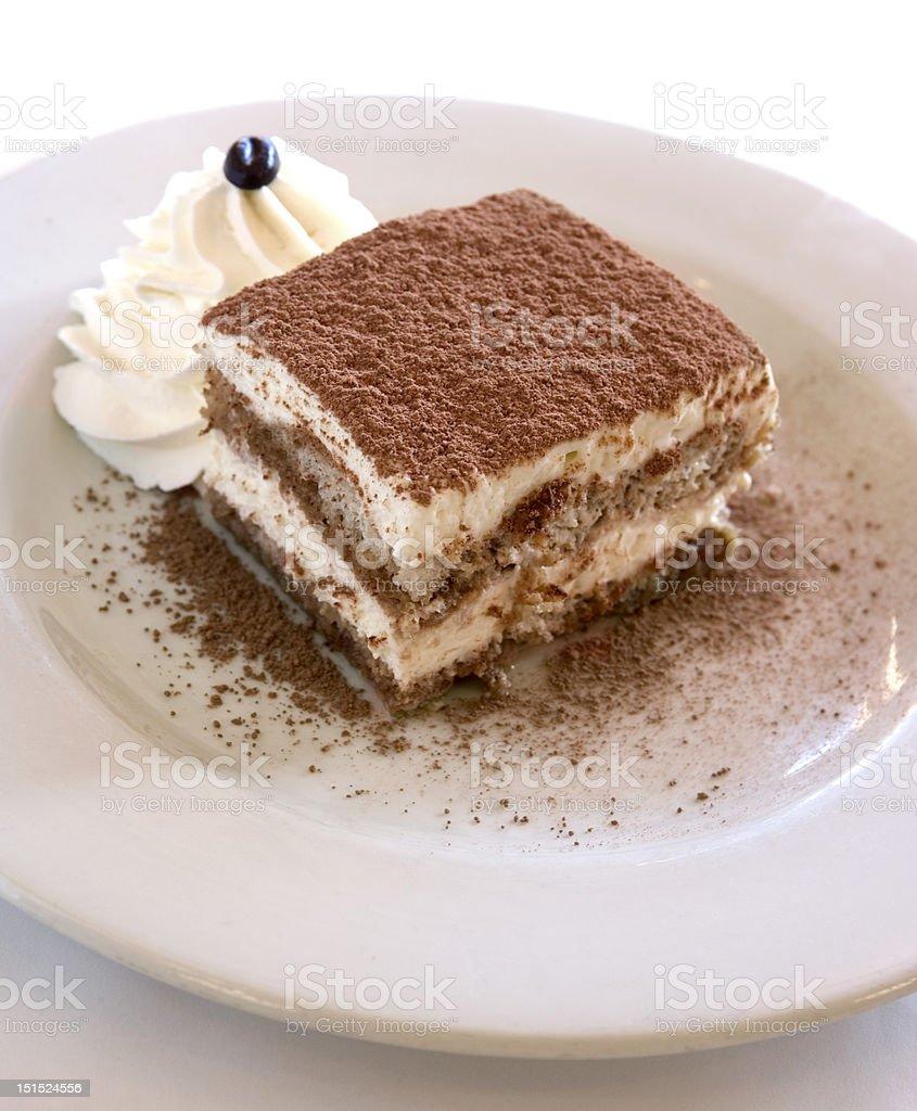 Tiramisu Dessert Dish royalty-free stock photo