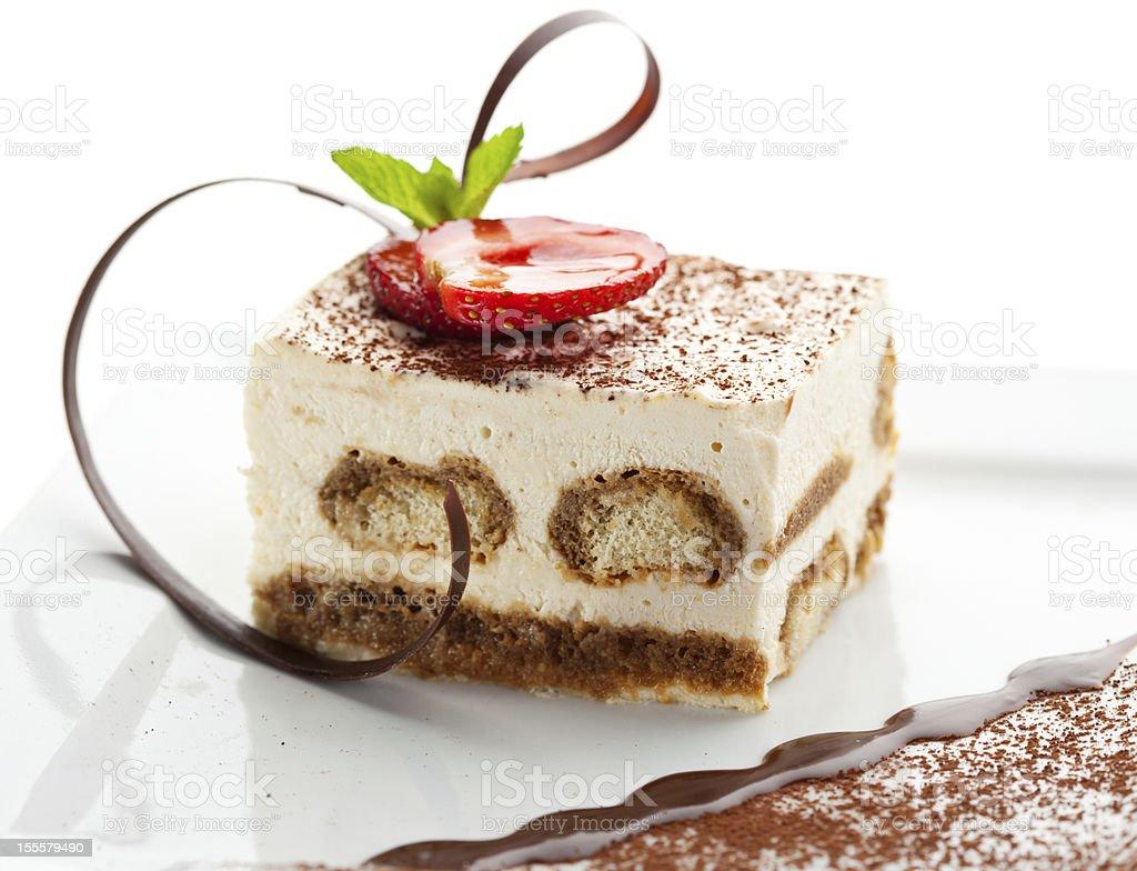 Tiramisu Dessert stock photo