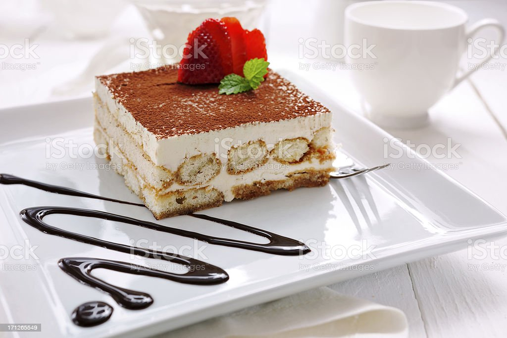 Tiramisu royalty-free stock photo