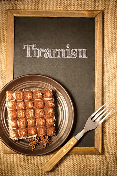 tiramisu - marinekuchen stock-fotos und bilder