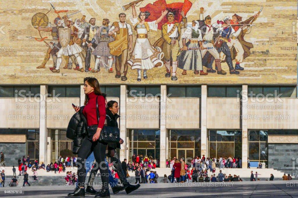 Tirana royalty-free stock photo