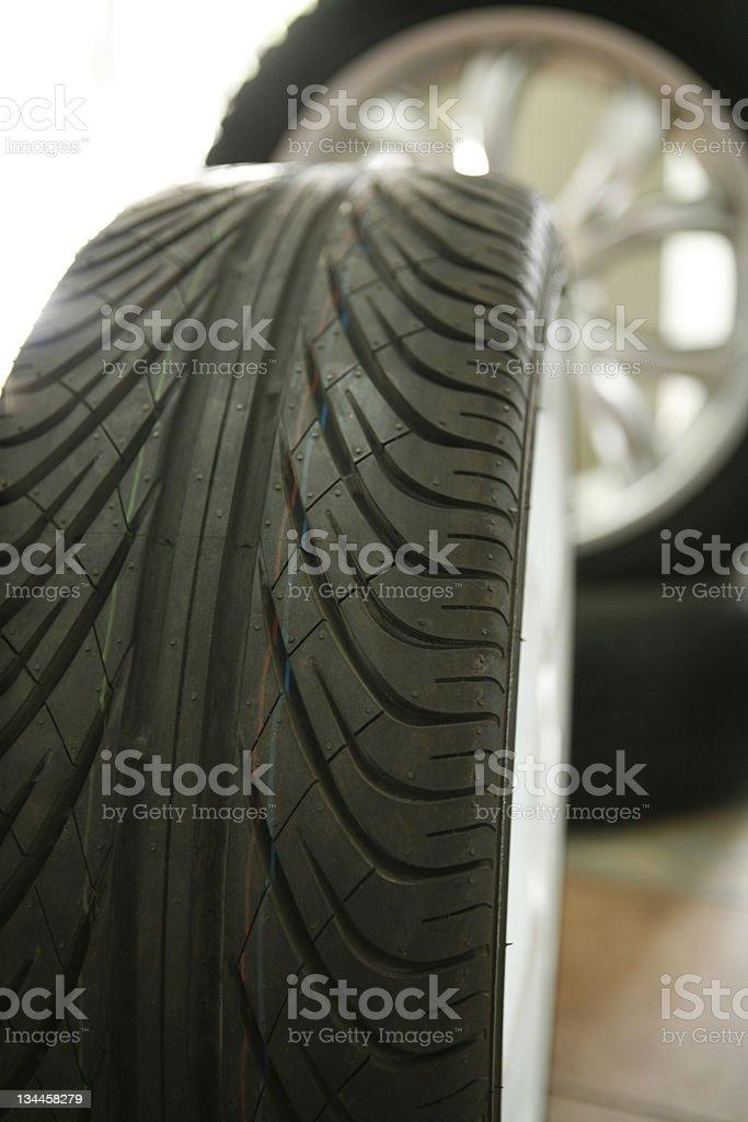 Tire Cap Series royalty-free stock photo