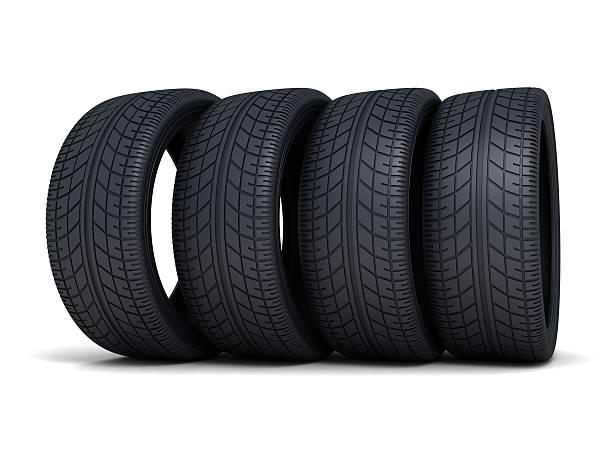 pneu de voiture - rame pièce détachée photos et images de collection