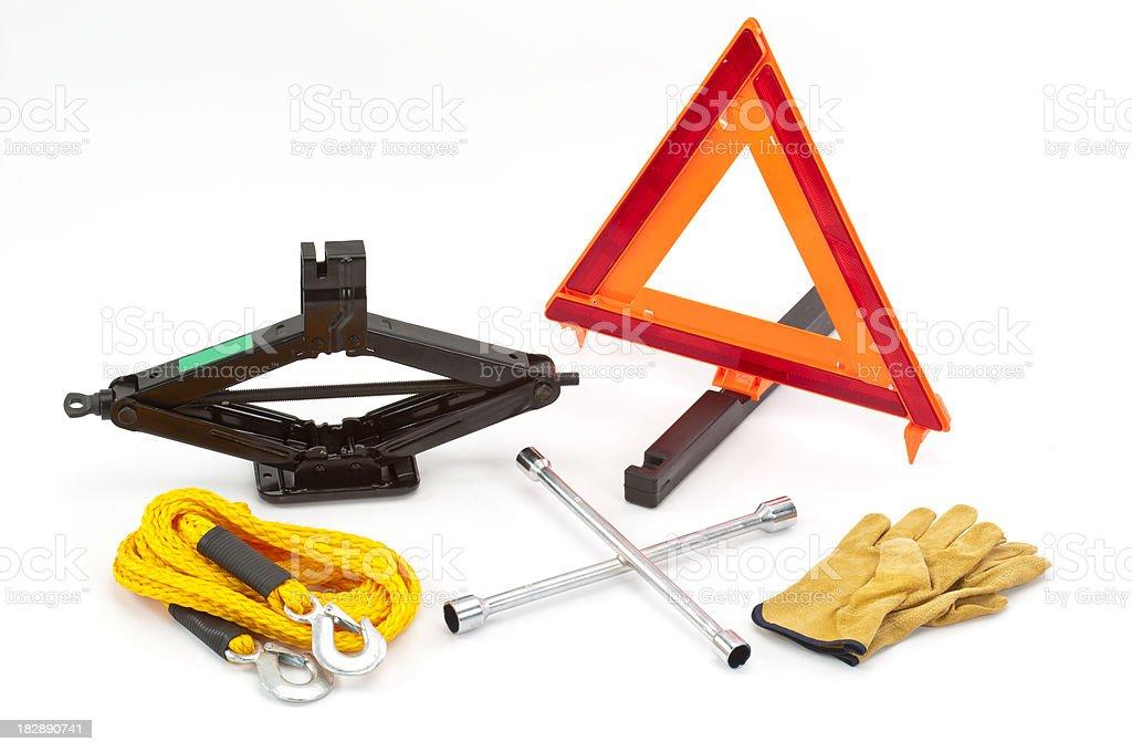 Tire Change Equipment stock photo