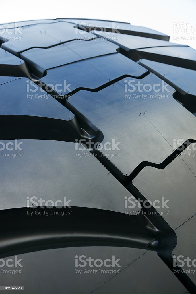 Tire Close Up royalty-free stock photo
