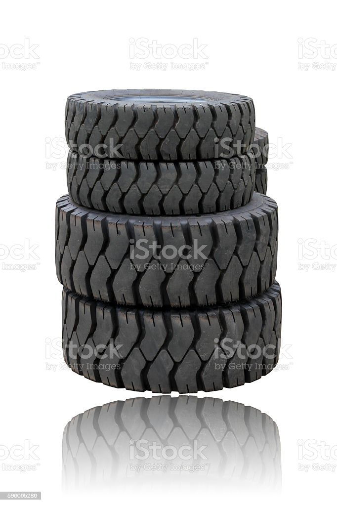 tire isolated on white background royalty-free stock photo