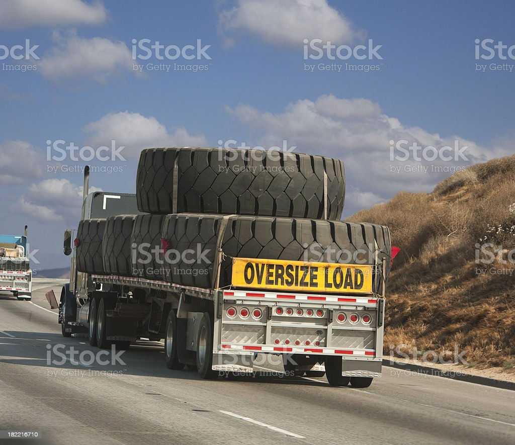 tire load royalty-free stock photo