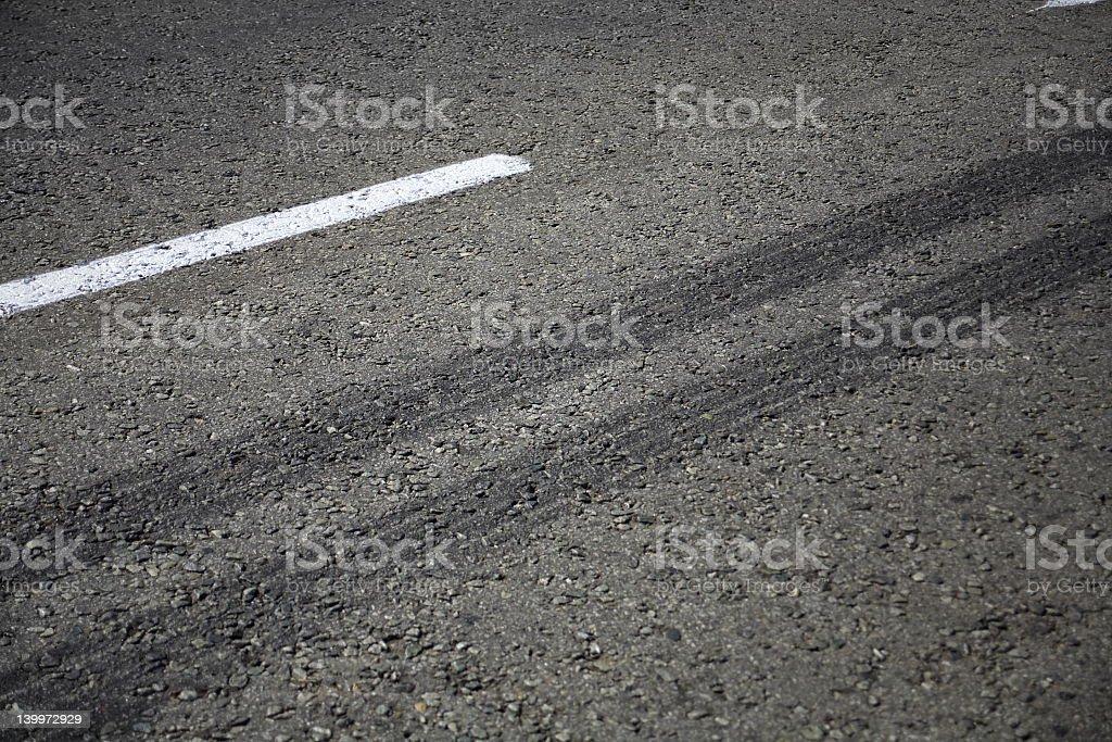 Reifen Marks – Foto