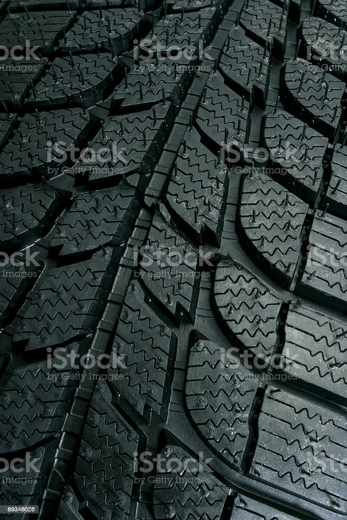 Tire pattern royalty-free stock photo