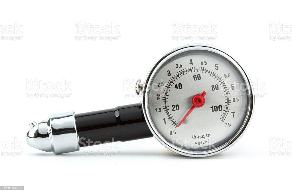 Tire Pressure Gauge stock photo