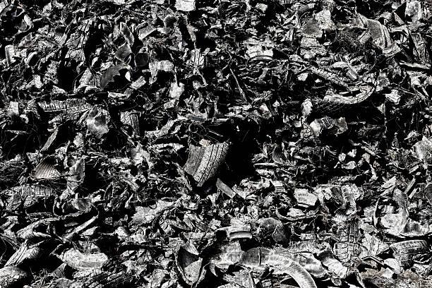 Reifen recycling-Industrie – Foto