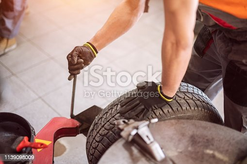 Tire repair, change tire process